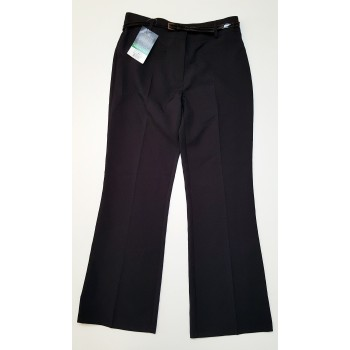 Fekete, öves alkalmi nadrág (170)