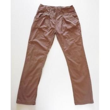 Barna, vékony nadrág (152)