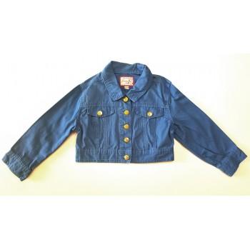 Kék rövid átmeneti kabát (140)