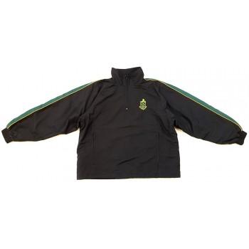 Bélelt fekete pulóver (146)