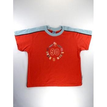 90-es feliratú narancs póló