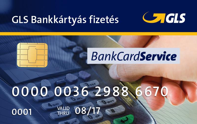 Bankkártyás fizetési lehetőség a GLS futárnál!