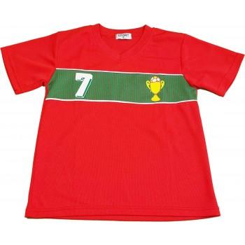 Piros portugál mez (128)