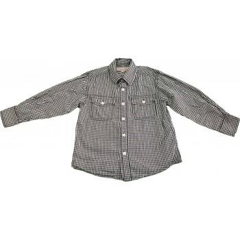 Fekete-fehér kockás ing (110)