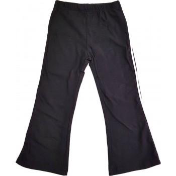 Fekete puha nadrág (98)