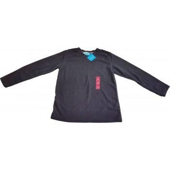 Új, fekete polár pulóver (152)
