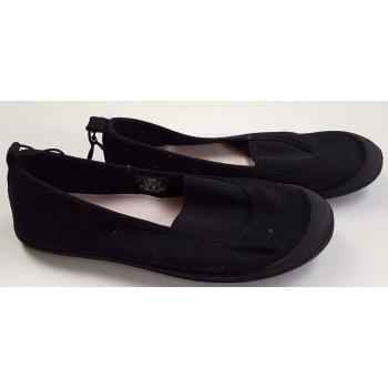 Belebújós fekete cipő (33)