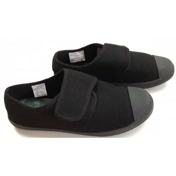 Tépőzáras fekete cipő (35)