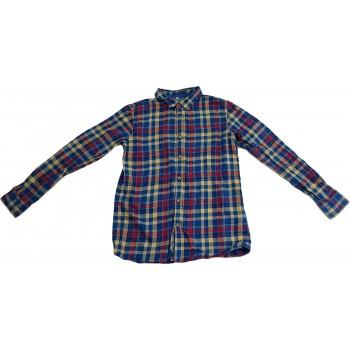 Kék-piros kockás ing (158)