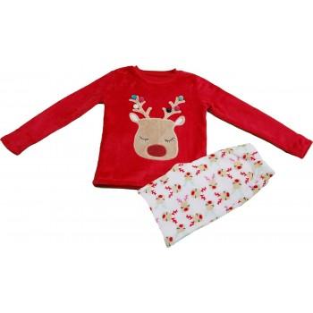 Rudolf piros-fehér pizsama (140)