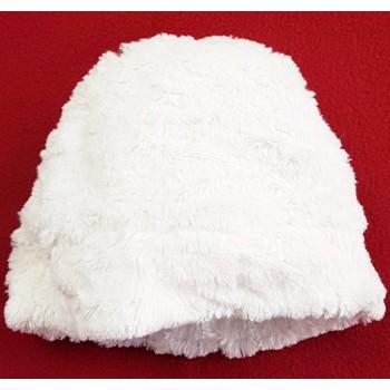 Szőrmés, fehér sapka (80-92)