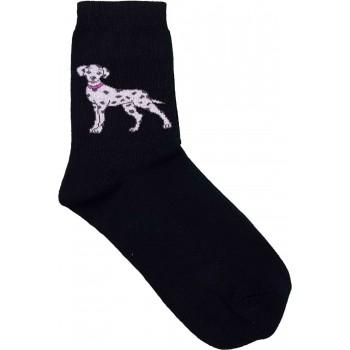 Dalmatás prémium felnőtt zokni (35-38)