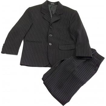 Csíkos fekete zakó nadrággal (98)