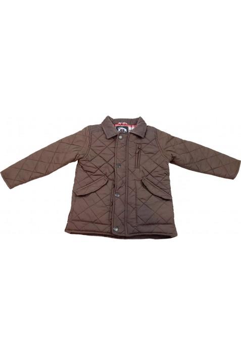 Steppelt sötétbarna kabát (110)