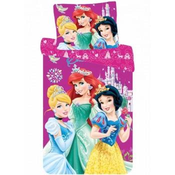 Disney hercegnők Ifjúsági ágyneműhuzat 140×200cm, 70×90 cm