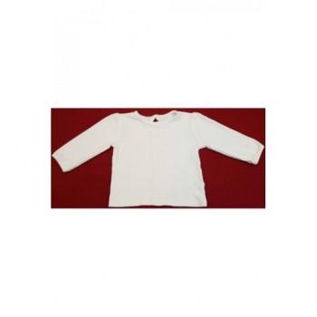 Csipkés fehér felső (74-80)
