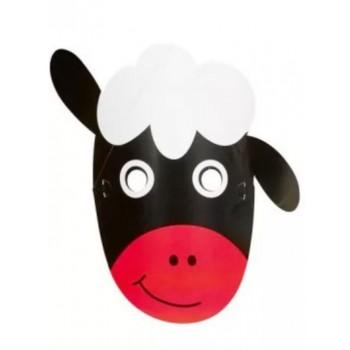 Fekete bárány álarc