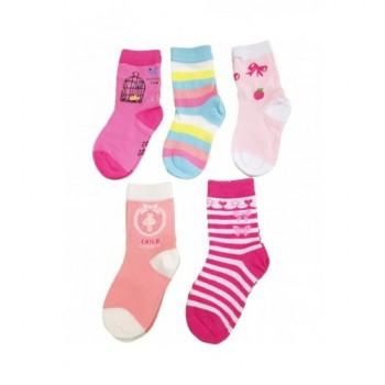 5 db-os csajos zokni szett (23-26)