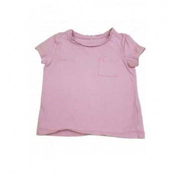 Zsebes rózsaszín felső (92-98)