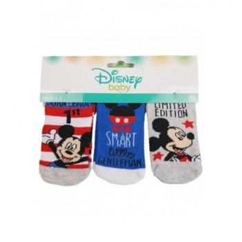 3db-os Mickey baby zokni (6-12 hó)