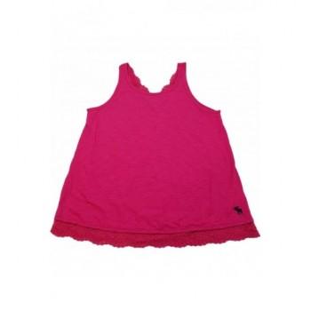 Csipkés pink trikó (164-170)