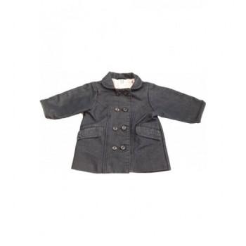 Sötét farmerkék kabát (74-80)