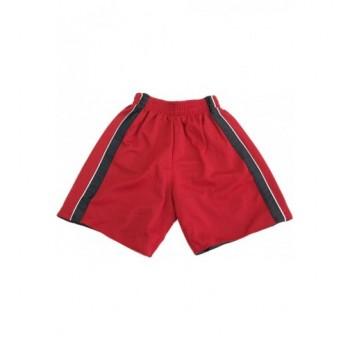 Kifordítható fekete-piros short (110-116)