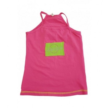 Strasszos pink trikó (128-134)
