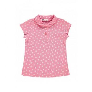 Pink csillagos felső (128-134)