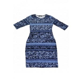 Kék mintás ruha (34)