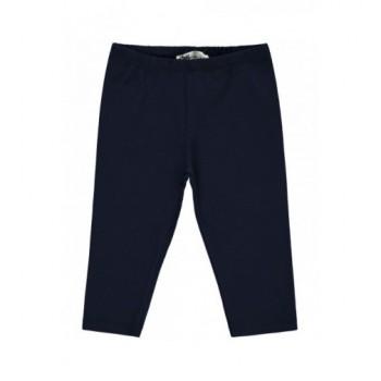 Sötétkék térd leggings (128-134)