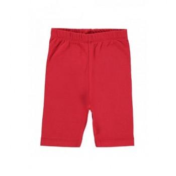 Piros rövid leggings (68-74)