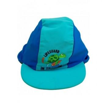 Teknősös kék sapka (98)