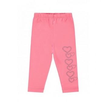 Rózsaszín szíves leggings (80)
