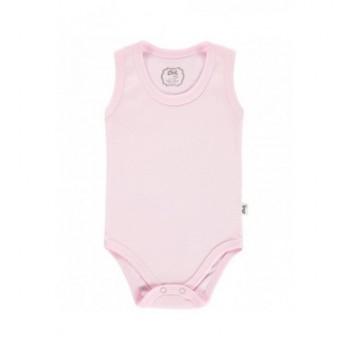 Ujjatlan rózsaszín body (62)