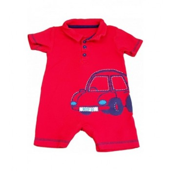 Autós piros napozó (68)