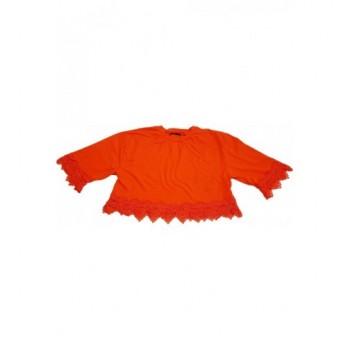 Díszes narancssárga felső (40)