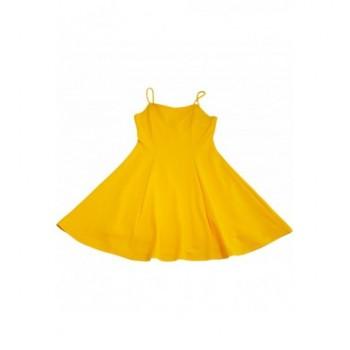 Csinos sárga ruha (146-158)