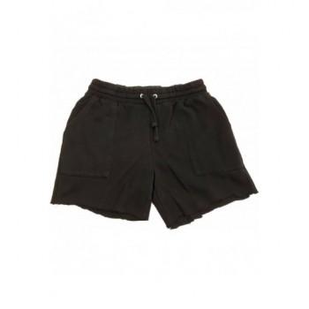 Fekete melegítő rövidnadrág (40)