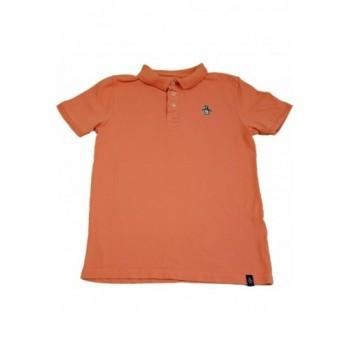 Galléros narancssárga piké póló (134)