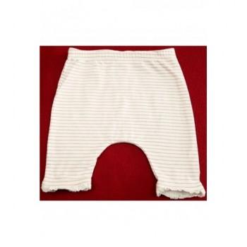 Rózsaszín csíkos capri leggings (56)