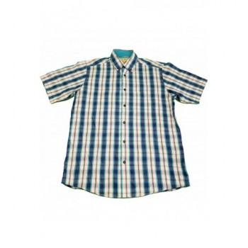Kék kockás ing (170)