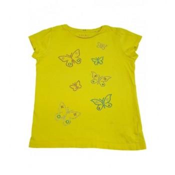 Pillangós sárga felső (128-134)