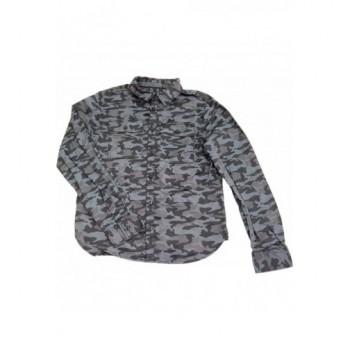 Terepmintás szürke ing (146)