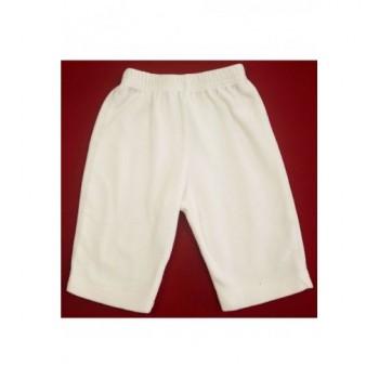 Fehér plüss nadrág (68)