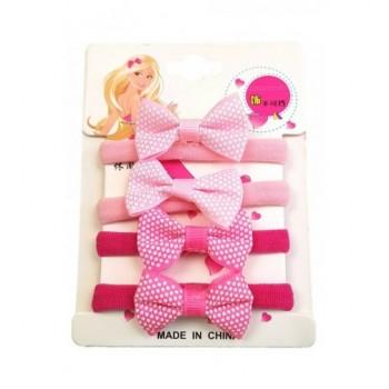Masnis pink hajgumi szett