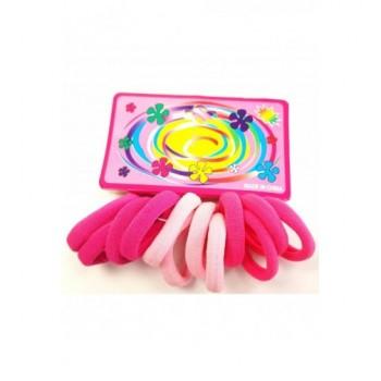Pink hajgumi szett
