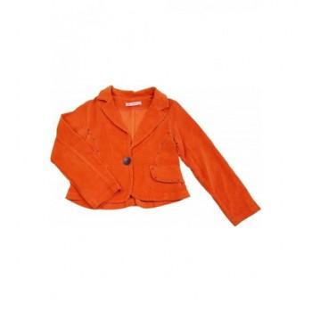 Narancssárga mikrokord kabát (110)