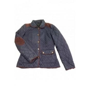 Steppelt sötétkék kabát (36)