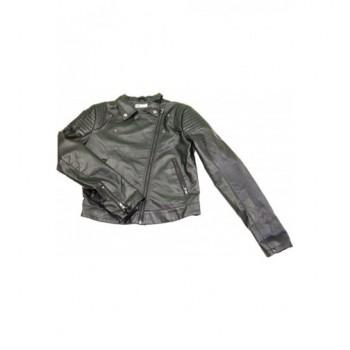 Fekete H&M bőrkabát (170)